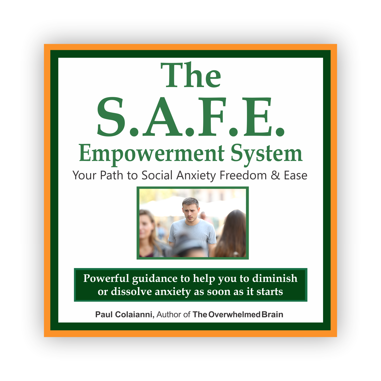 SAFE System for social anxiety freedom and ease cover